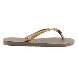 Havaianas Slim Glitter slippers dames rose gold