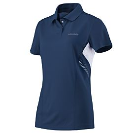 Head Club Technical tennispolo dames navy