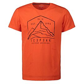 Icepeak Bude Shirt heren coral-red
