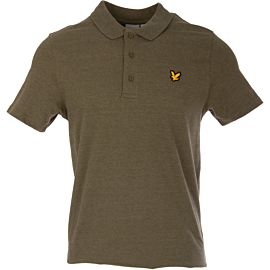Lyle & Scott Sport polo olive marl