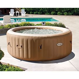 Intex PureSpa Bubble Spa opblaasbare jacuzzi 4 personen