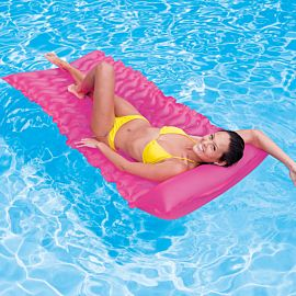 Intex Tote-n-Float Wave luchtbed roze