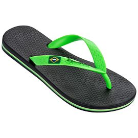 Ipanema Classic Brasil slippers junior black green