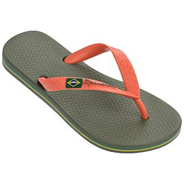 Ipanema Classic Brasil slippers junior green orange