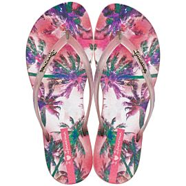 Ipanema Wave Tropical slippers dames pink
