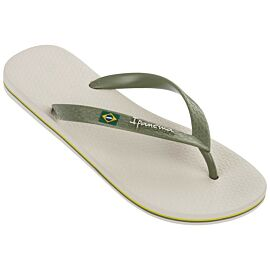 Ipanema Classic Brasil slippers heren beige green