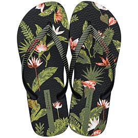 Ipanema I Love Tropical slippers dames black green