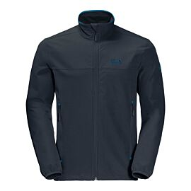 Jack Wolfskin Crestview softshell jas heren night blue