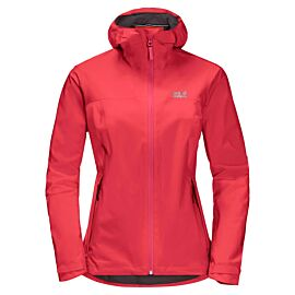 Jack Wolfskin JWP Shell outdoor jack dames tulip red