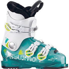 Salomon T3 Girlie RT skischoenen junior green translucent