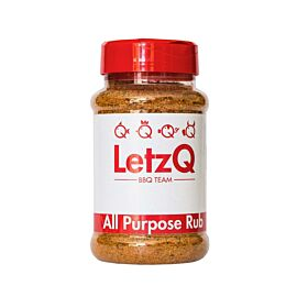 LetzQ All Purpose Rub pot 350 gram