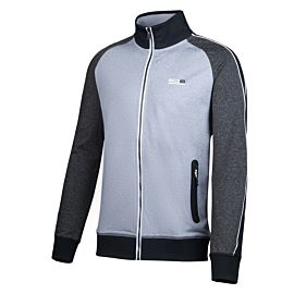 Sjeng Sports Lou trainingsjack heren ivy grey melange