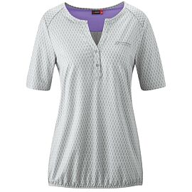 Maier Sports Doora 2.0 blouse dames white all over