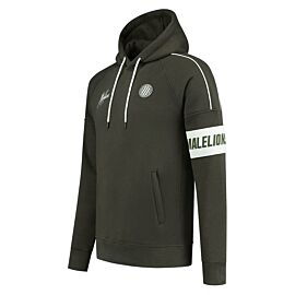 Malelions Sport Coach hoodie heren army
