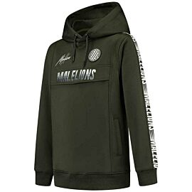 Malelions Sport Warming Up hoodie junior army