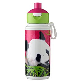 Rosti Mepal Campus Pop-Up drinkfles decors animal planet panda