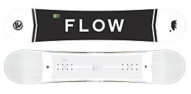 Flow Merc White wide snowboard