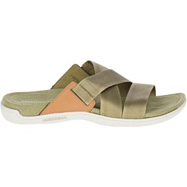 Merrell District Maya Slide slippers dames olive drab
