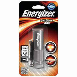 Energizer Metal Value 3 x AAA zaklamp