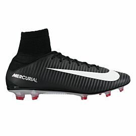 Nike Mercurial Veloce III Dynamic Fit FG 831961 voetbalschoenen black university red white
