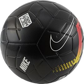 Nike Neymar Strike voetbal black chrome yellow red orbit black