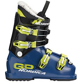 Nordica GPX Team skischoenen junior blue lime