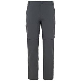 The North Face Exploration Convertible wandelbroek dames grey