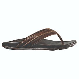 OluKai Mea Ola slippers heren dark java dark java