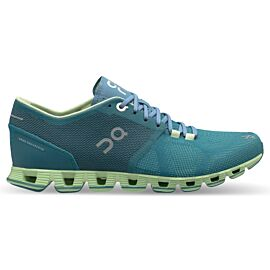On Cloud X 20.99972 hardloopschoenen dames storm willow