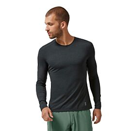 On Performance Long-T hardloopshirt heren black