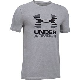 Under Armour Two Tone Logo shirt junior gray