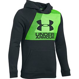 Under Armour Rival Fleece hoodie junior dark gray