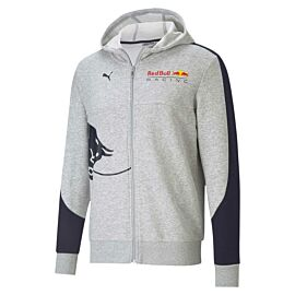 Puma Red Bull Racing Hooded Sweat vest heren light gray heather