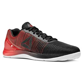 Reebok Nano 7 Weave BS8345 crossfit schoenen heren black white primal red