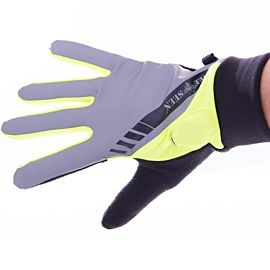 Bee Sports Reflective Led Glove silver
