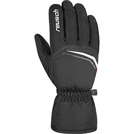 Reusch Snow King handschoenen heren black white