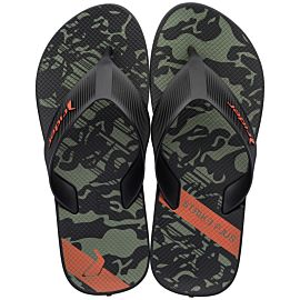 Rider Strike Plus slippers heren black green orange