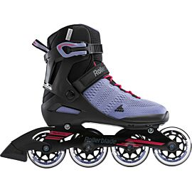 Rollerblade Sirio 84 inline skates dames smoky purple hot pink
