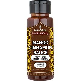 Saus.Guru Mango Cinnamon barbecuesaus 500 ml