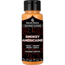 Saus.Guru Smokey Americaine barbecuesaus 500 ml