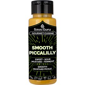 Saus.Guru Smooth Piccalilly barbecuesaus 500 ml