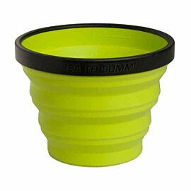 Sea to Summit X-Cup opvouwbare beker lime green