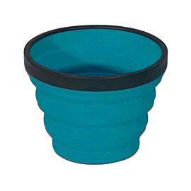 Sea to Summit X-Cup opvouwbare beker pacific blue