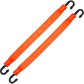 StrapGear allesbinder 2 pack 20 cm orange