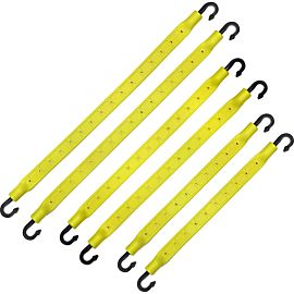 StrapGear allesbinder 6 pack yellow