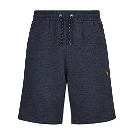 Lyle & Scott Fleece short heren navy marl