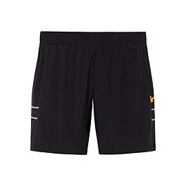 Lyle & Scott Ultra Light hardloop short heren true black