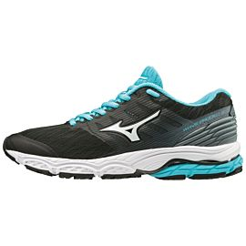 Mizuno Wave Prodigy 2 J1GD1810 hardloopschoenen dames black white stormyweather