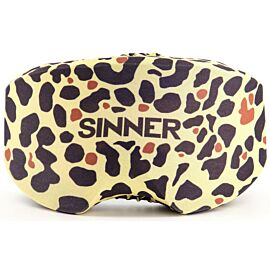SINNER skibrillenhoes panter