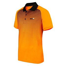Sjeng Sports Archer tennispolo heren orange clown fish